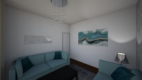 Levett Gardens A9 - Living room - by JLStratford