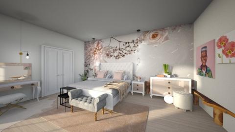 Bedroom Mural - Bedroom - by Vlad Silviu