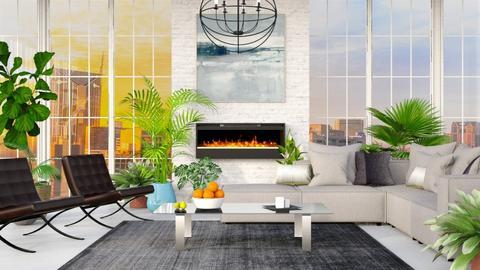 Sunny Modern - Modern - Living room - by millerfam