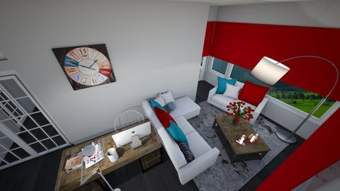 House C Spare 1 - Bedroom - by HeidiNel