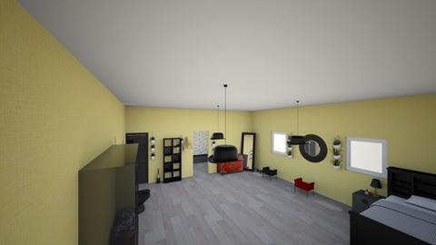 my teenager room - Retro - Bedroom - by ella reyntjens