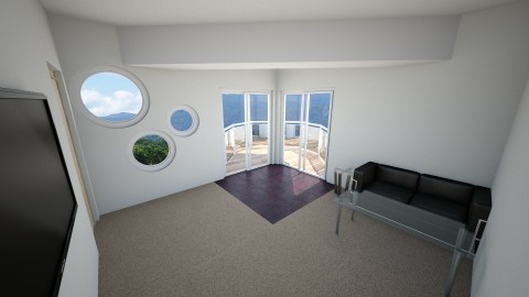 Apartment Balcony 1 - by CaptainBenderman