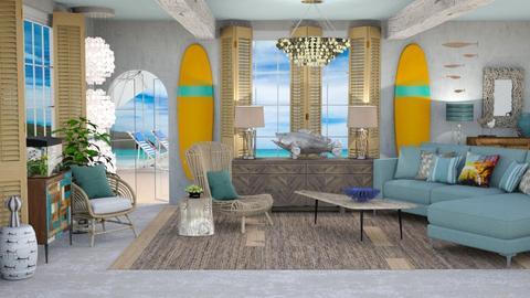 Surf Culture Living - Living room - by jjp513