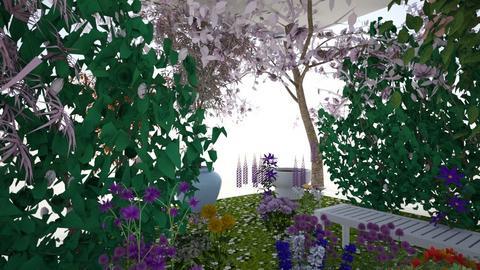 peaceful garden - Garden - by Natasha W