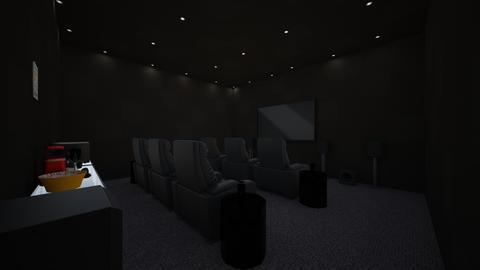 modern home cinema food a - Modern - by jade1111