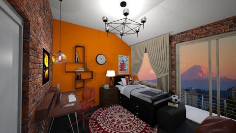 Inspire Teenage Girl - Bedroom - by Seattle2424