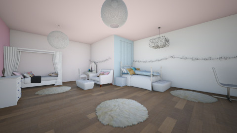 Girls room - Modern - Bedroom - by Demiana Acis