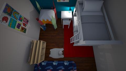 Little boys bedroom - Kids room - by hoorei01