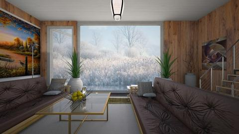 Fog and Mist - Country - Living room - by Wildflowers