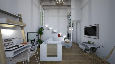 Casa158LivingArea - Eclectic - Living room - by nickynunes