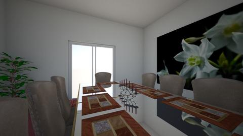 dining room 1 - Glamour - Dining room - by Bree9704