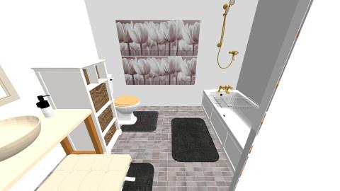 Meadows our wash room - Retro - Bathroom - by LROB