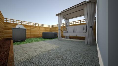 Backyard - Modern - Garden - by Joy Mk