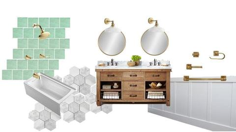 Ziegler bathroom 3 - by littlewillowhome