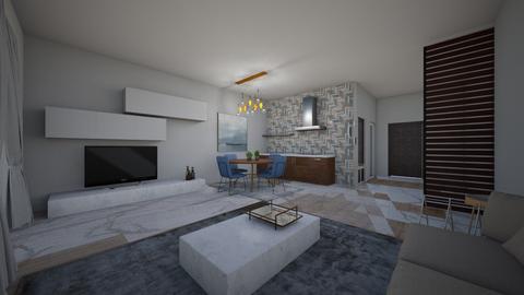 mple - Living room - by naanaatoo