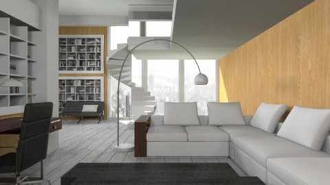Modern Living Space - Office - by deleted_1513655778_Valencey14