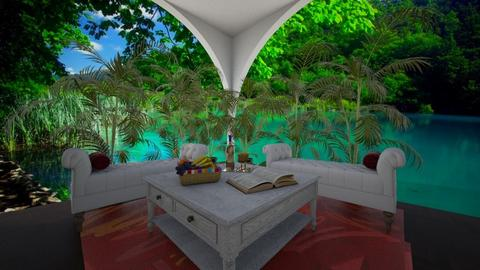 dinning for 2 in paradise - Modern - Dining room - by chloe_mccarty