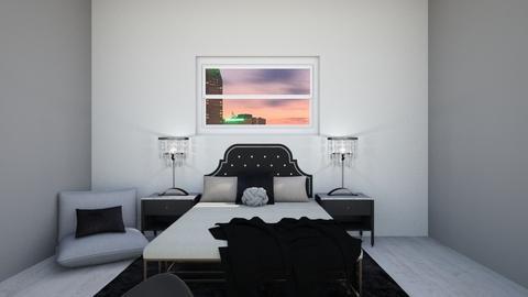 Black - Bedroom - by Infinity_Girl86