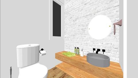 bathroom isogeio - Bathroom - by ttra