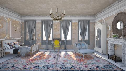 shabby chic in Paris - Classic - Bedroom - by kitty