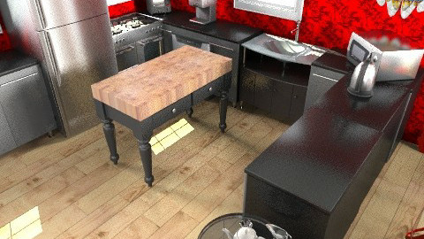 Classy Kitchen - Classic - Kitchen - by Pepper710