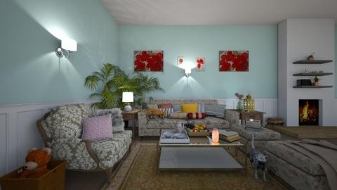 Your Granny Style - Vintage - Living room - by Dragana2212