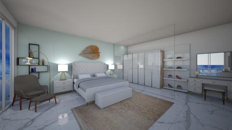 chick - Bedroom - by Christella Werner