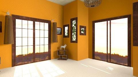 Entrance Hall - Retro - by HGranger2