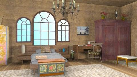 belen2 - Rustic - Bedroom - by ATELOIV87
