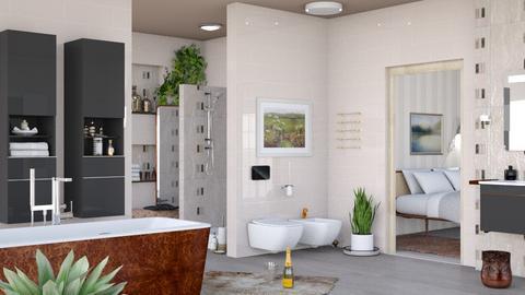 M_ V and B - Bathroom - by milyca8