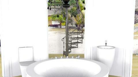 Tropical Bathroom - Glamour - Bathroom - by richardsbm
