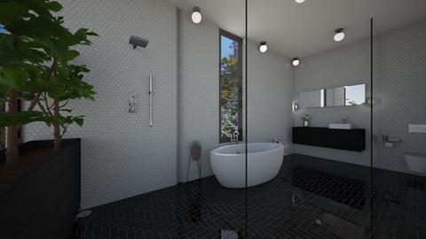 Black and White 2 - Bathroom - by heyfeyt