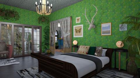Animalia  - Bedroom - by timeandplace