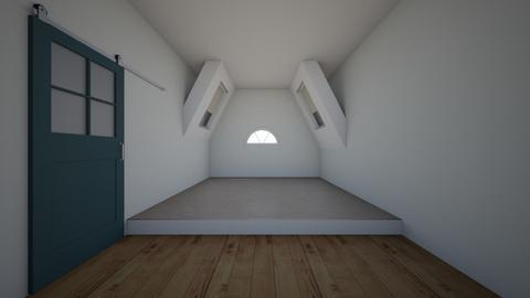 bedroom 1 - Modern - Bedroom - by NEVERQUITDESIGNIT