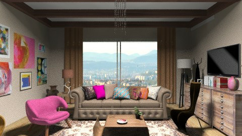 10room - Living room - by dina_szab