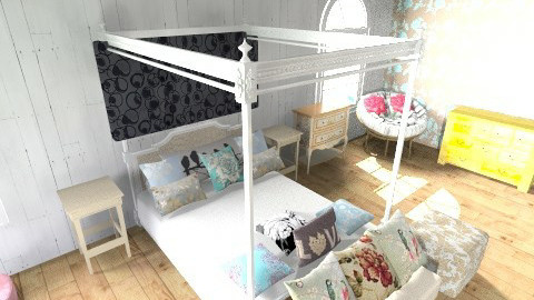 pretty - Bedroom - by nitajolly