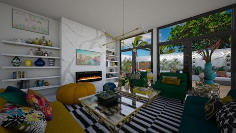 TOWNHOUSE - Living room - by flacazarataca_1