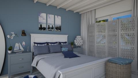 Plage - Bedroom - by JM Krab