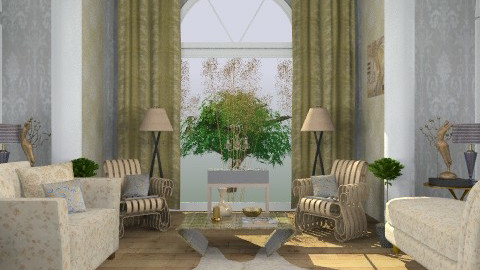 fenton - Glamour - Living room - by trees designs