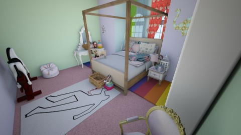 enfant terribles chamber - Bedroom - by hologramghost