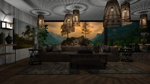 Ekachai - Living room - by ZuzanaDesign