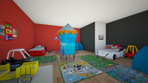 The BEST KIDS ROOM EVER - Kids room - by SydneyCupcake