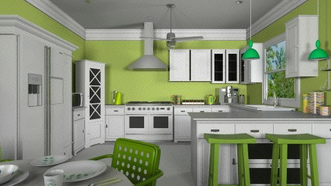 Granny Smith - Classic - Kitchen - by paigerc