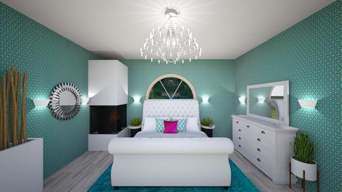 Dream Room - Glamour - Bedroom - by Cool Coder Girl