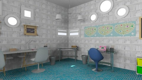 my own office i want  - Glamour - Office - by _bear