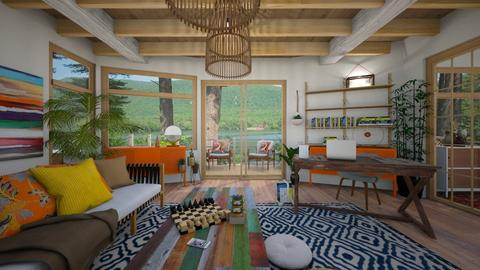 Boho Comforts - Office - by SimonRoshana