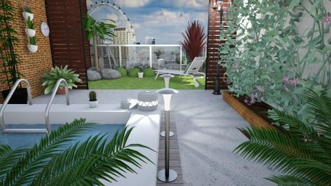 Garden Terrace _London  - Garden - by kelseyleigh3