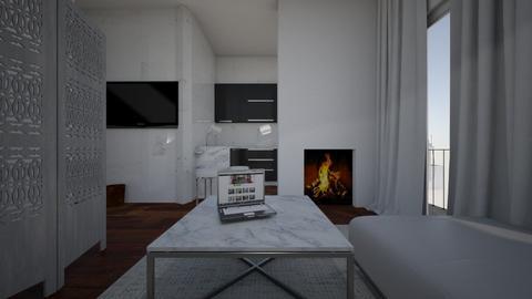 MONOLOCALE - Living room - by ELVI