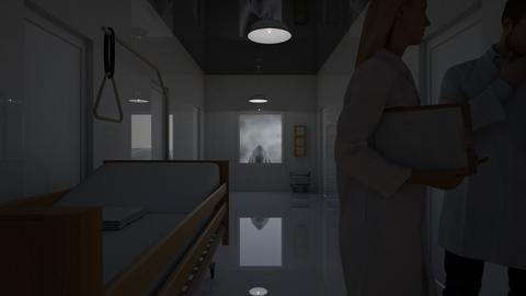 haunted hallway - by Teri Dawn