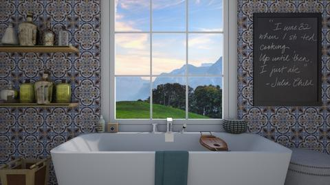 bathtub - Bathroom - by barreka